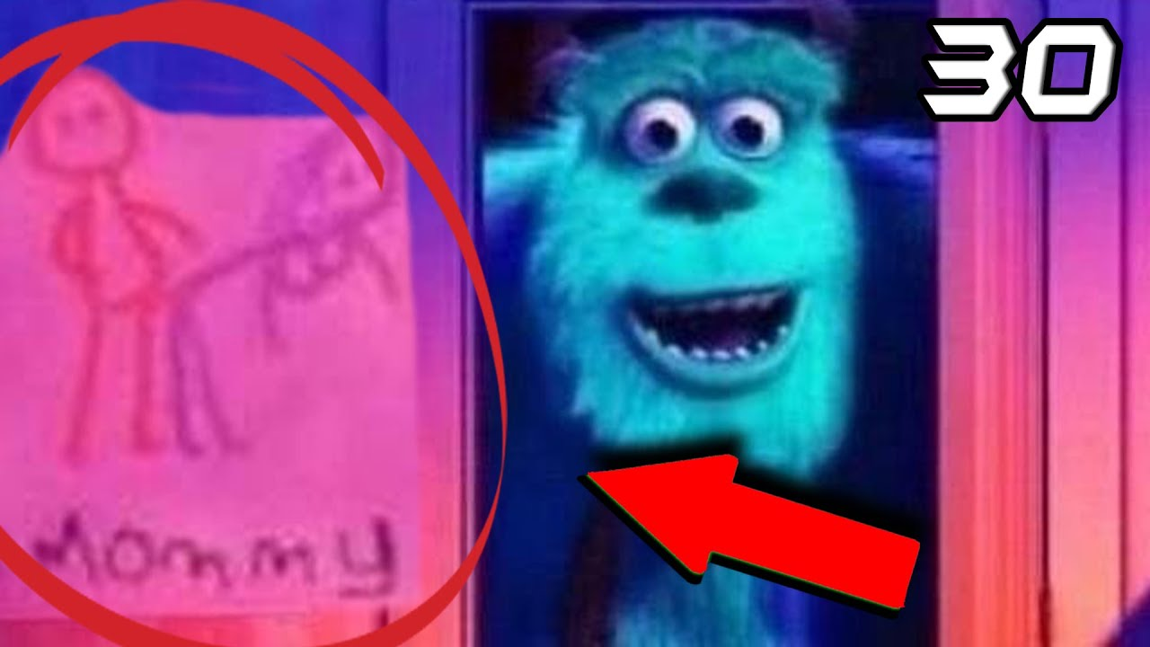 30 Curiosities Monsters Inc Things You Did Not Know Youtube