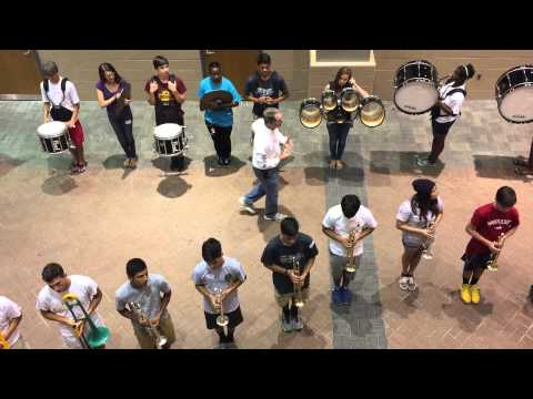 Wilde Lake High School Marching Band 2015 Back to School Night