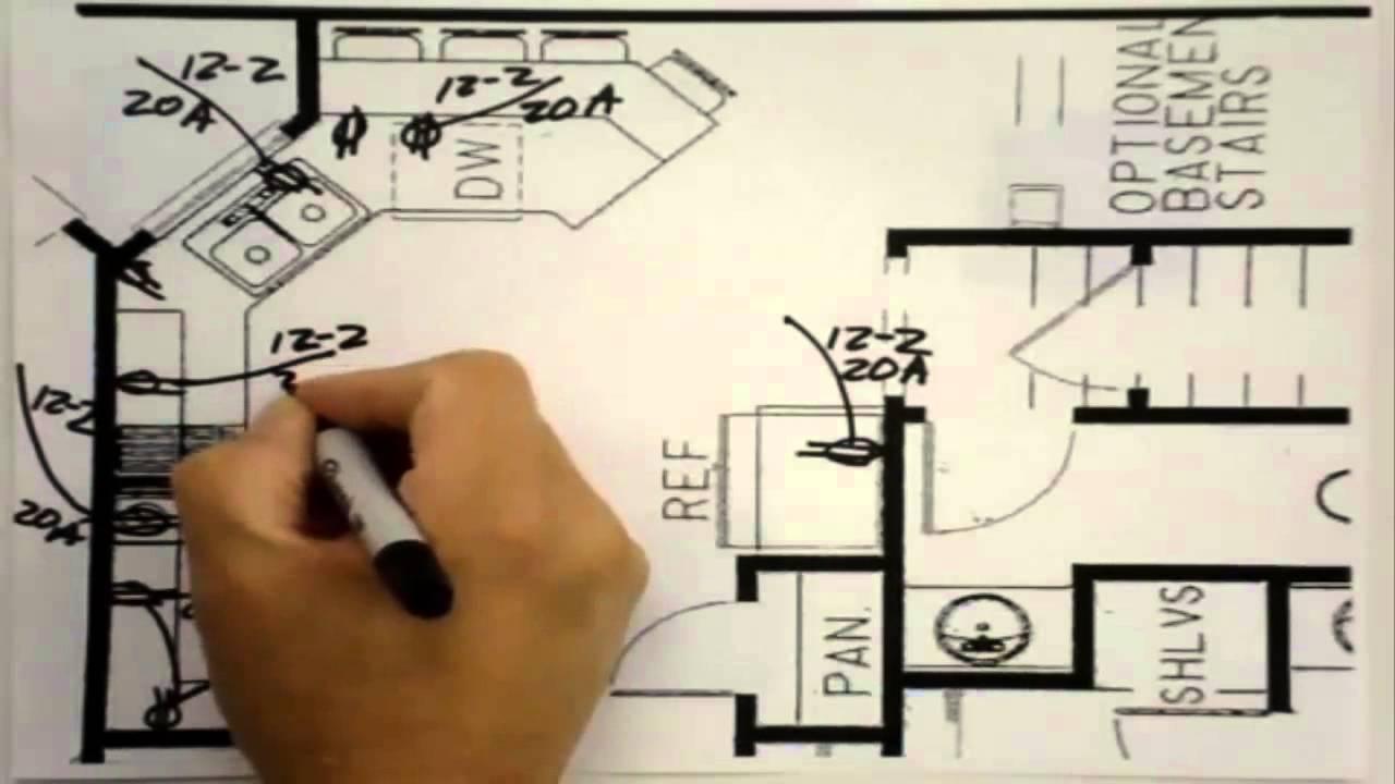 Como Esquema Electrico En Una Cocina Buildingtheway Youtube