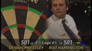 Dennis Priestley v Rod Harrington 1993 W.D.C Lada UK Masters