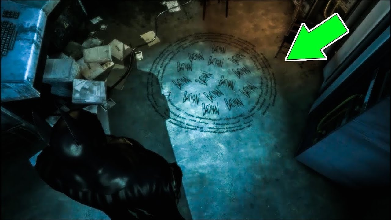 Batman Arkham Asylum Last Spirit Of Arkham Guide Youtube
