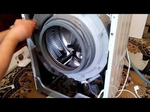 Как снять нижнюю крышку стиральной машины lg