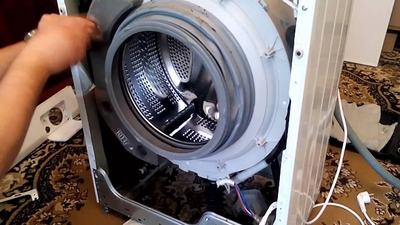 как разобрать стиральную машину лдж