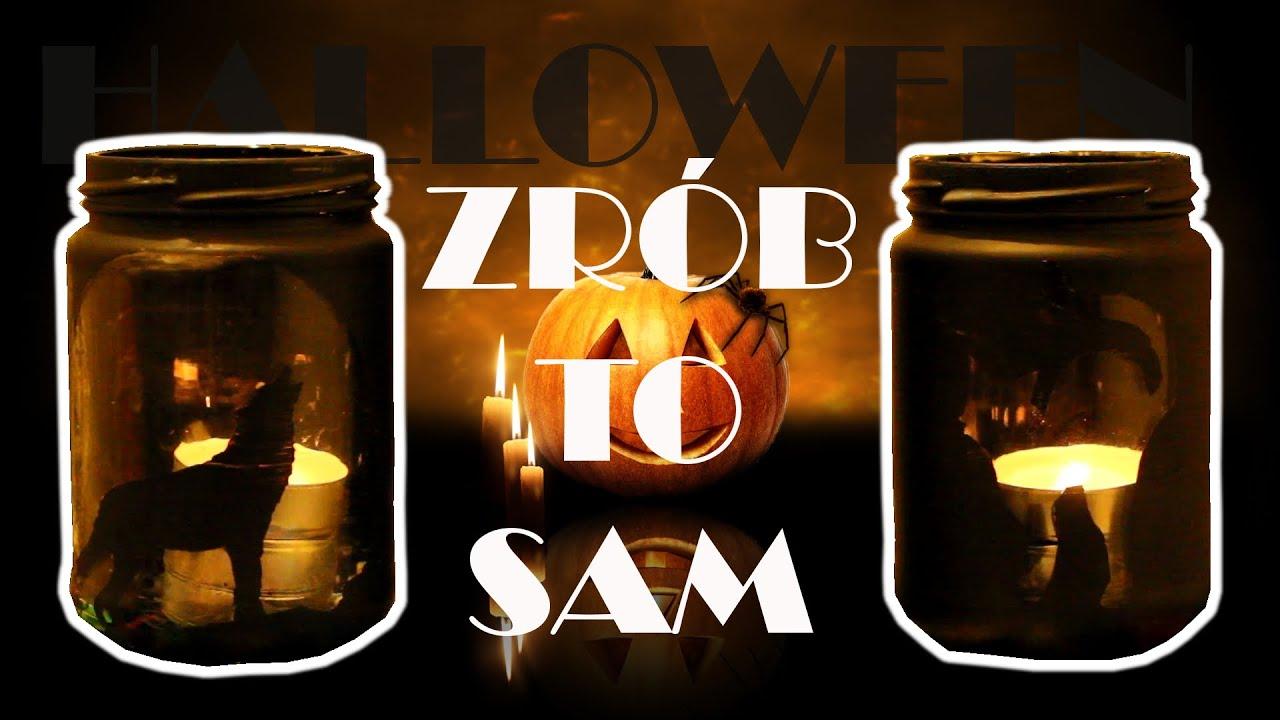 Halloweenowe lampiony  ZRÓB TO SAM  kichiTV  YouTube