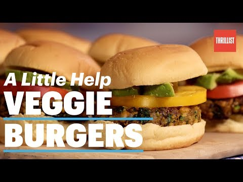 How to make homemade veggie burgers stick together