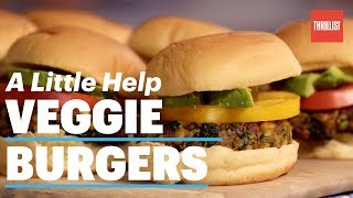 how to make veggie burgers the right way a little help veggie burgers