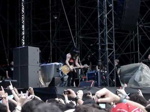 Slash feat. Myles Kennedy – Sweet Child O' Mine (Live @ Gods Of Metal 2012) -PDV-
