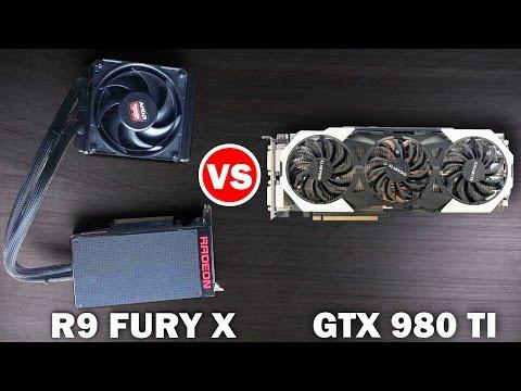 AMD R9 FURY X Vs Nvidia GTX 980 TI - 4k Gaming Benchmarks