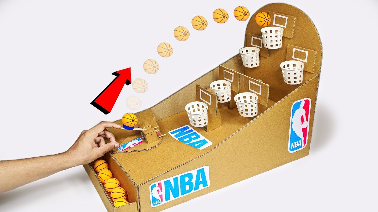 NBA Basketball DIY How to make NBA