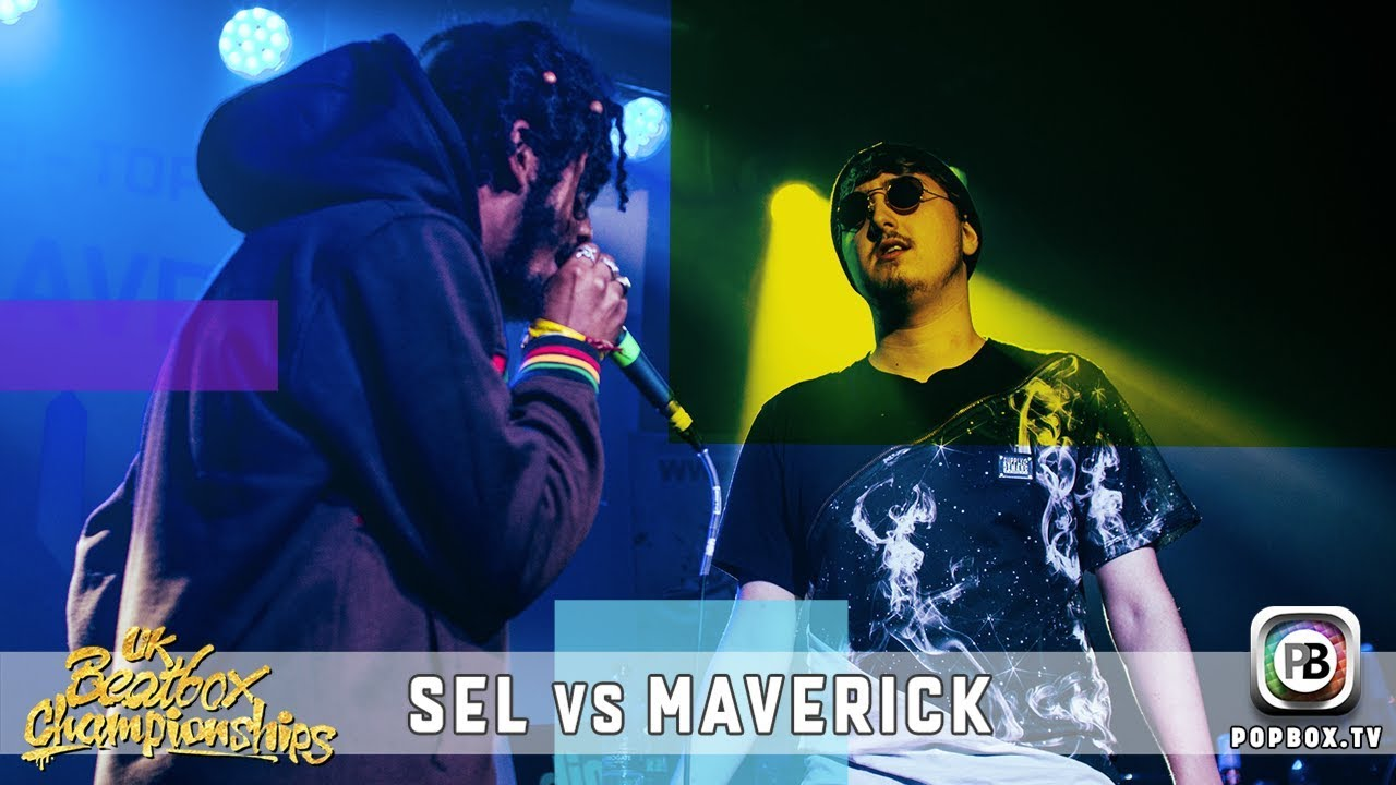 Sel vs Maverick   Solo Top 16   2017 UK Beatbox Championships