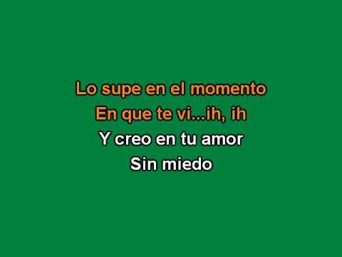Paulina Goto - Creo En Tu Amor (Karaoke)