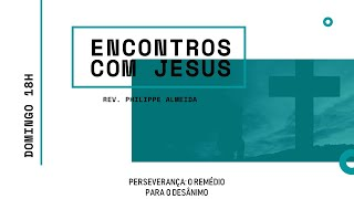 Culto Noite - Domingo 25/10/20 - Rev. Philippe Almeida