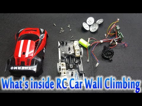 What's Inside RC Car Wall Climbing Anti-gravity - Disassembly