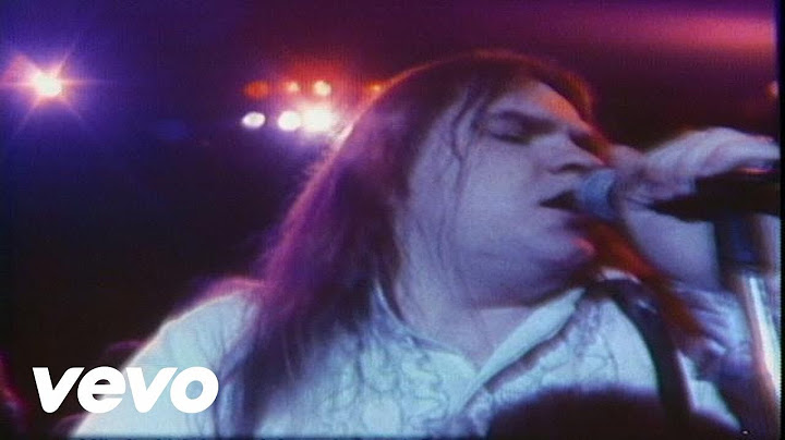 meat loaf  you took the words right out of my mouth hot summer night pcm stereo