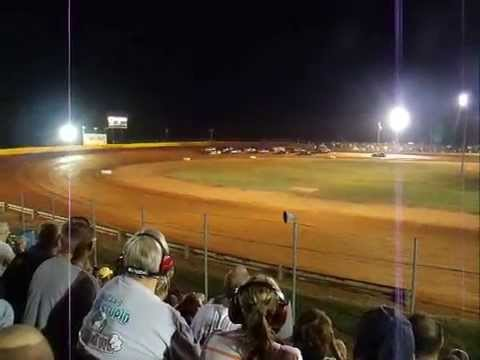 modoc speedway schaellers sounthern nationals series  race first five laps