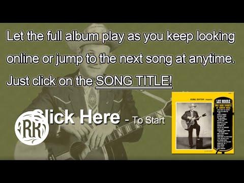 Lee Moore   Country Music Singer   Full CD   Sings Radio Favorites Of Country Music