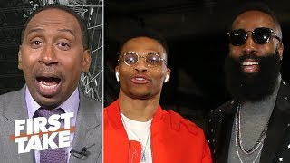 Westbook-Harden can rival any dynamic duo in the NBA - Stephen A. | First Take