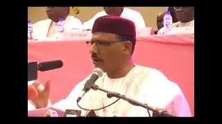 Discours prononcé par M. Bazoum Mohamed