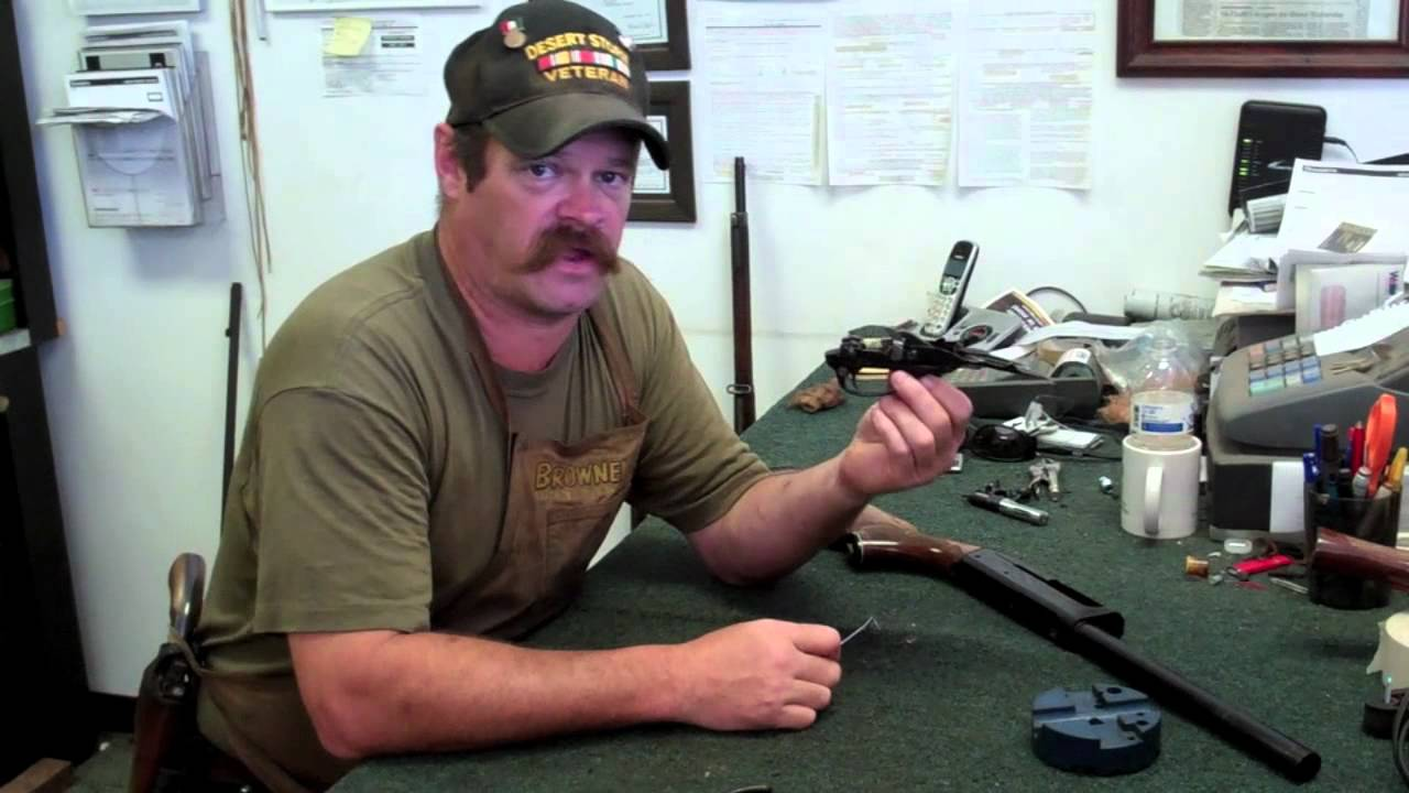 Gunsmithing Disassembly: Remington 1100 (Gunworks)