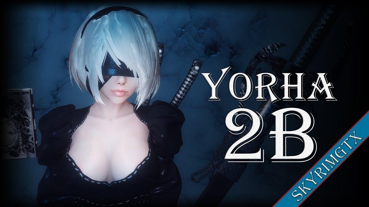 Skyrim: YoRHa 2B Follower 1 08 HDT   EndlessVideo
