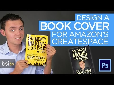 Design a Print Book Cover for Amazon's Createspace with Photoshop [Tutorial]