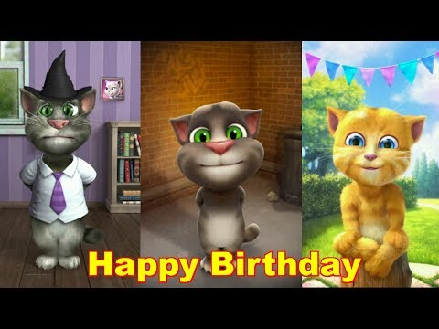 Das beste Happy Birthday Lied aller Zeiten The best Happy Birthday song ever Talking Tom Ginger