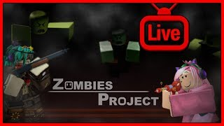[ NO MIC] LET'S PLAY MMC Zombies Project - Roblox