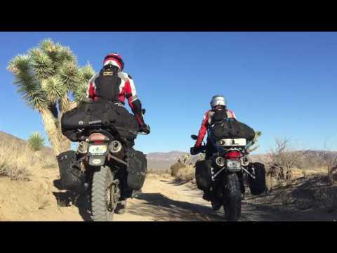 Joshua Tree Motorcycle Adventure