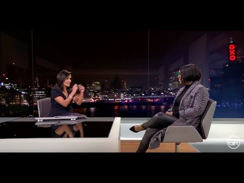 Carla Marie Williams - Beyonce songwriter and Founder of Girls I Rate on ITV LONDON