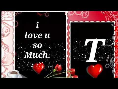 T letter WhatsApp status video