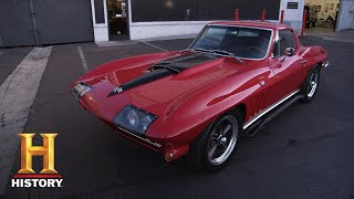 Counting Cars: STUNNING '66 CORVETTE REVS DANNY UP (Season 9) | History