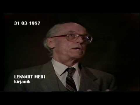 BRUNO SAUL - valitsusjuhi pressikonverents  IV osa (31 03 1987)