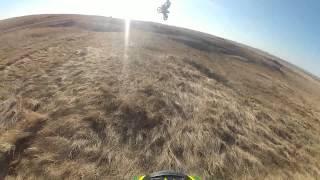 HUGE dirt bike jump 2016 #SENDIT