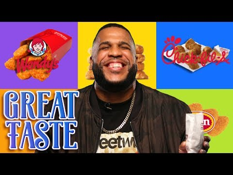 The Best Chicken Nuggets ft. MeechOnMars | Great Taste