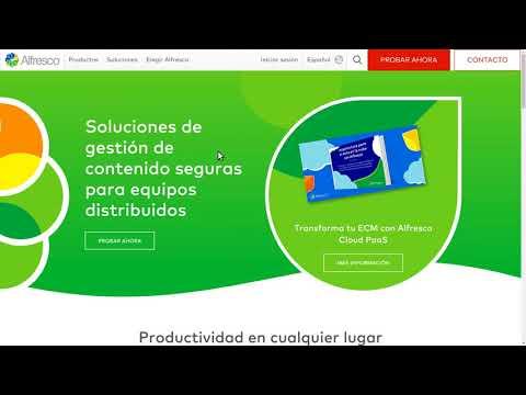 Ferramentas Empresariais: Pílula sobre Alfresco, xestor de contidos empresarial