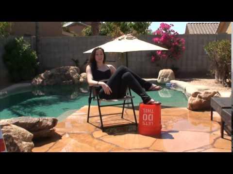 ALS Ice Bucket Challenge, Flashdance edition