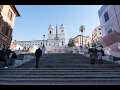 Spanish Steps and Piazza di Spagna, Rome, Italy