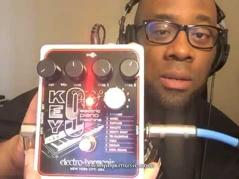 Electro-Harmonix Key 9 Electric Piano Machine Demo