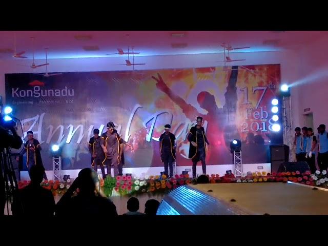 MECHANICAL (Kongunadu engineering and polytechni college) annuval day 2018