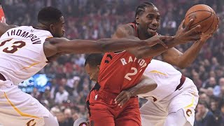 Kawhi Leonard First Game w/Raptors, Lowry Near Perfect! Raptors vs Cavs Highlights!