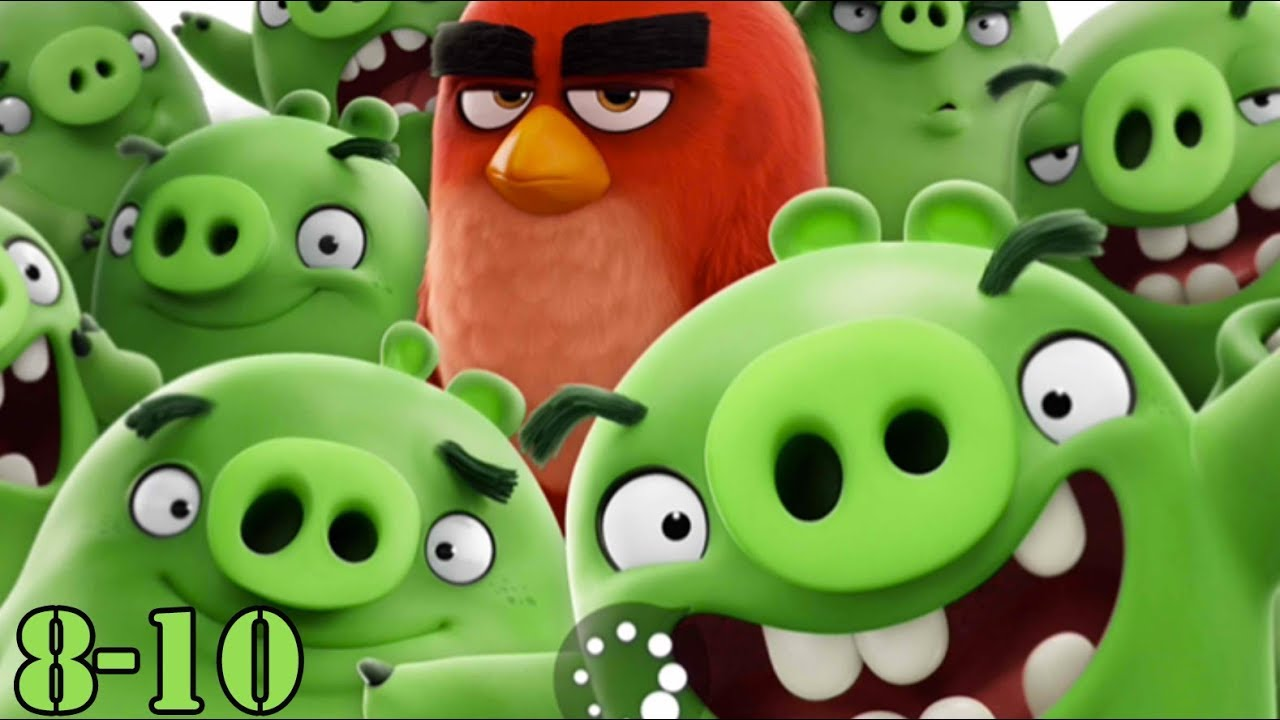 Angry Birds 2 - Gameplay Walkthrough 8 and 9 (Gertit ToysReview)