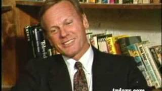TAB HUNTER ACTOR TALKING ABOUT CAREER with JOHN A. GALLAGHER 1984