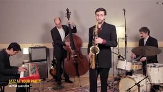 JAYP Quarteto Saxofone + Piano + Contrabaixo + Bateria