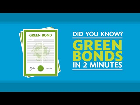 Did You Know? Green Bonds in 2 Minutes