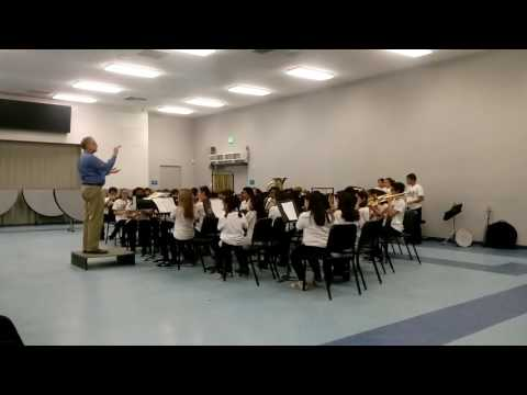 American Spirit March by John O'Reilly performed by Stauffer Middle School Beginning Band