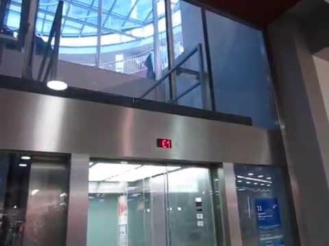 Fenster Bochum osma scenic traction elevator at the bochumer fenster in bochum