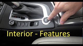 2010 SAAB New Generation 9-5 Aero Turbo6 XWD Review Part 2 - Interior and Infotainment