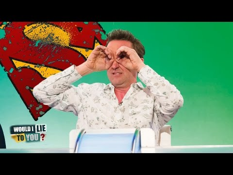 Mackiavellian Superpowers -  Lee Mack on Would I Lie to You?