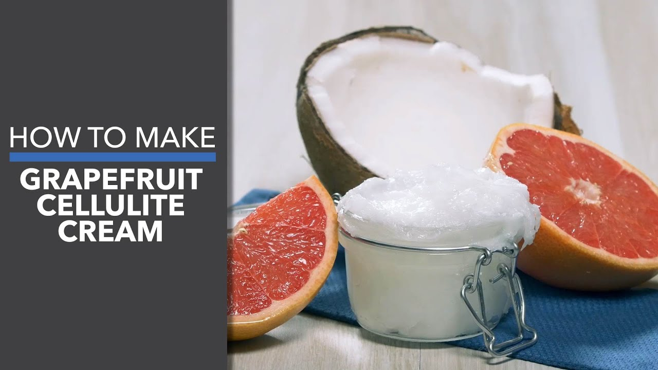 Easy DIY Grapefruit Cellulite Scrub