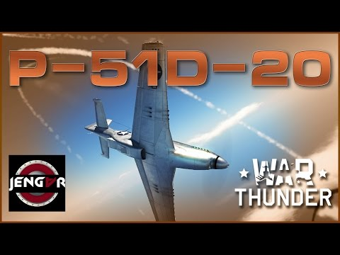 War Thunder Premium Review: P-51D-20 NA Mustang [Speed it up]